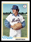 1978 Topps #676  Bob Myrick  Front Thumbnail