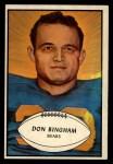 1953 Bowman #59  Don Bingham  Front Thumbnail