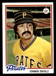 1978 Topps #433  Fernando Gonzalez  Front Thumbnail