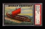 1955 Topps Rails & Sails #196   Roman Trireme Front Thumbnail
