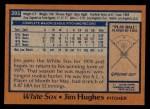 1978 Topps #395  Jim Hughes  Back Thumbnail