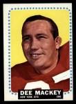 1964 Topps #119  Dee Mackey  Front Thumbnail