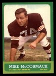 1963 Topps #17  Mike McCormack  Front Thumbnail
