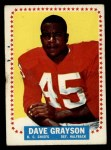 1964 Topps #97  Dave Grayson  Front Thumbnail