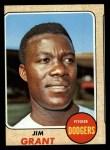 1968 Topps #398  Jim Mudcat Grant  Front Thumbnail