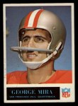 1965 Philadelphia #179  George Mira  Front Thumbnail