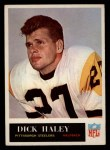 1965 Philadelphia #146  Dick Haley  Front Thumbnail