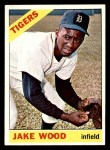 1966 Topps #509  Jake Wood  Front Thumbnail