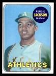 1969 Topps #260  Reggie Jackson  Front Thumbnail