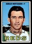 1967 Topps #453  Aurelio Monteagudo  Front Thumbnail