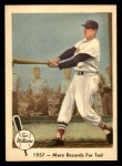 1959 Fleer #60   -  Ted Williams More Records Front Thumbnail