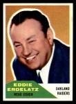 1960 Fleer #131  Eddie Erdelatz  Front Thumbnail
