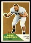 1961 Fleer #143  Gene Grabosky  Front Thumbnail