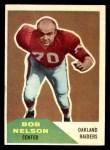 1960 Fleer #83  Bob Nelson  Front Thumbnail
