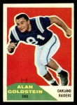 1960 Fleer #108  Alan Goldstein  Front Thumbnail