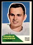 1960 Fleer #25  Charlie Jackson  Front Thumbnail