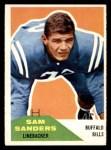 1960 Fleer #57  Sam Sanders  Front Thumbnail