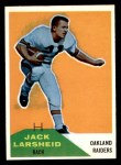 1960 Fleer #41  Jack Larsheid  Front Thumbnail