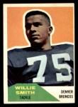 1960 Fleer #47  Willie Smith  Front Thumbnail