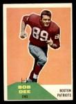 1960 Fleer #111  Bob Dee  Front Thumbnail