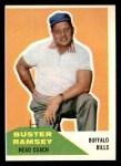 1960 Fleer #92  Buster Ramsey  Front Thumbnail