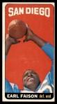 1965 Topps #158  Earl Faison  Front Thumbnail