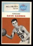 1961 Fleer #13  Dave Gambee  Front Thumbnail