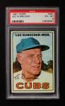1967 Topps #481  Leo Durocher  Front Thumbnail
