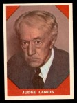 1960 Fleer #64  Judge Landis  Front Thumbnail