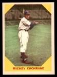 1960 Fleer #24  Mickey Cochrane  Front Thumbnail
