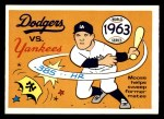 1970 Fleer World Series #60   -  Moose Skowron 1963 Dodgers vs. Yankees   Front Thumbnail