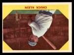1960 Fleer #30  Chuck Klein  Front Thumbnail