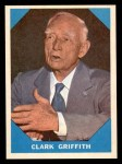 1960 Fleer #15  Clark Griffith  Front Thumbnail
