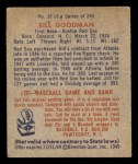 1949 Bowman #39  Billy Goodman  Back Thumbnail