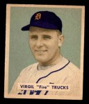 1949 Bowman #219  Virgil Trucks  Front Thumbnail