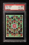 1971 Topps #502   Cubs Team Front Thumbnail