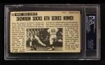 1964 Topps Giants #60  Bill Skowron  Back Thumbnail