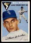 1954 Topps #222  Bill Wilson  Front Thumbnail