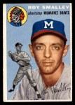 1954 Topps #231  Roy Smalley  Front Thumbnail