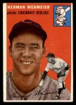 1954 Topps #162  Herm Wehmeier  Front Thumbnail