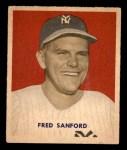 1949 Bowman #236  Fred Sanford  Front Thumbnail