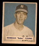 1949 Bowman #240  Babe Young  Front Thumbnail