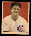 1949 Bowman #83 NNOF Bob Scheffing  Front Thumbnail