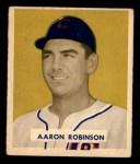 1949 Bowman #133  Aaron Robinson  Front Thumbnail