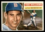 1956 Topps #5  Ted Williams  Front Thumbnail