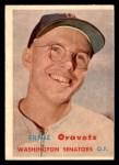 1957 Topps #179  Ernie Oravetz  Front Thumbnail