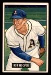 1951 Bowman #33  Bob Hooper  Front Thumbnail