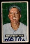 1951 Bowman #236  Warren Rosar  Front Thumbnail