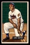 1951 Bowman #258  Luke Easter  Front Thumbnail