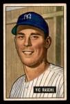 1951 Bowman #25  Vic Raschi  Front Thumbnail